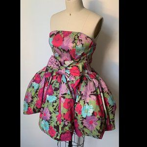 NWT Ronny Kobo Collection Bubble Hem Dress